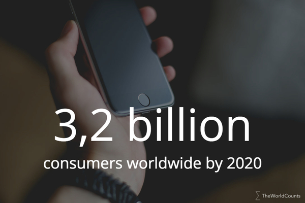 3 2 billion consumers by 2020