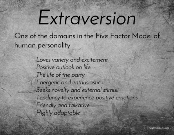 personality a neurobiological model of extraversion essay Personality and psychology: hans eysenck's unifying themes philip j corr's eysenck memorial lecture from 2007 any discussion of the development of psychology over the past 50 years would be incomplete without consideration of the important and wide-ranging work of the late professor hans eysenck (1916–1997) this is nowhere more apparent than in the area of personality.