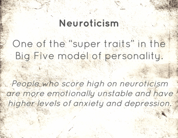 Badge neuroticism