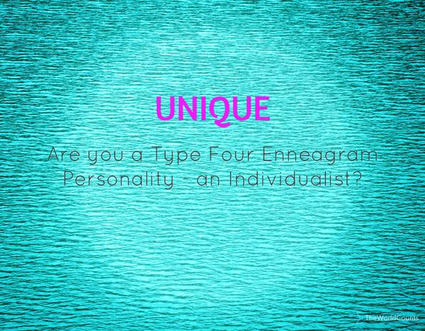 Enneagram four