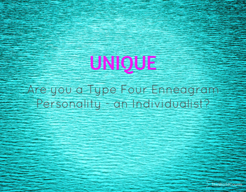 Badge enneagram four