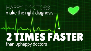 Badge happy doctors make faster diagnosis